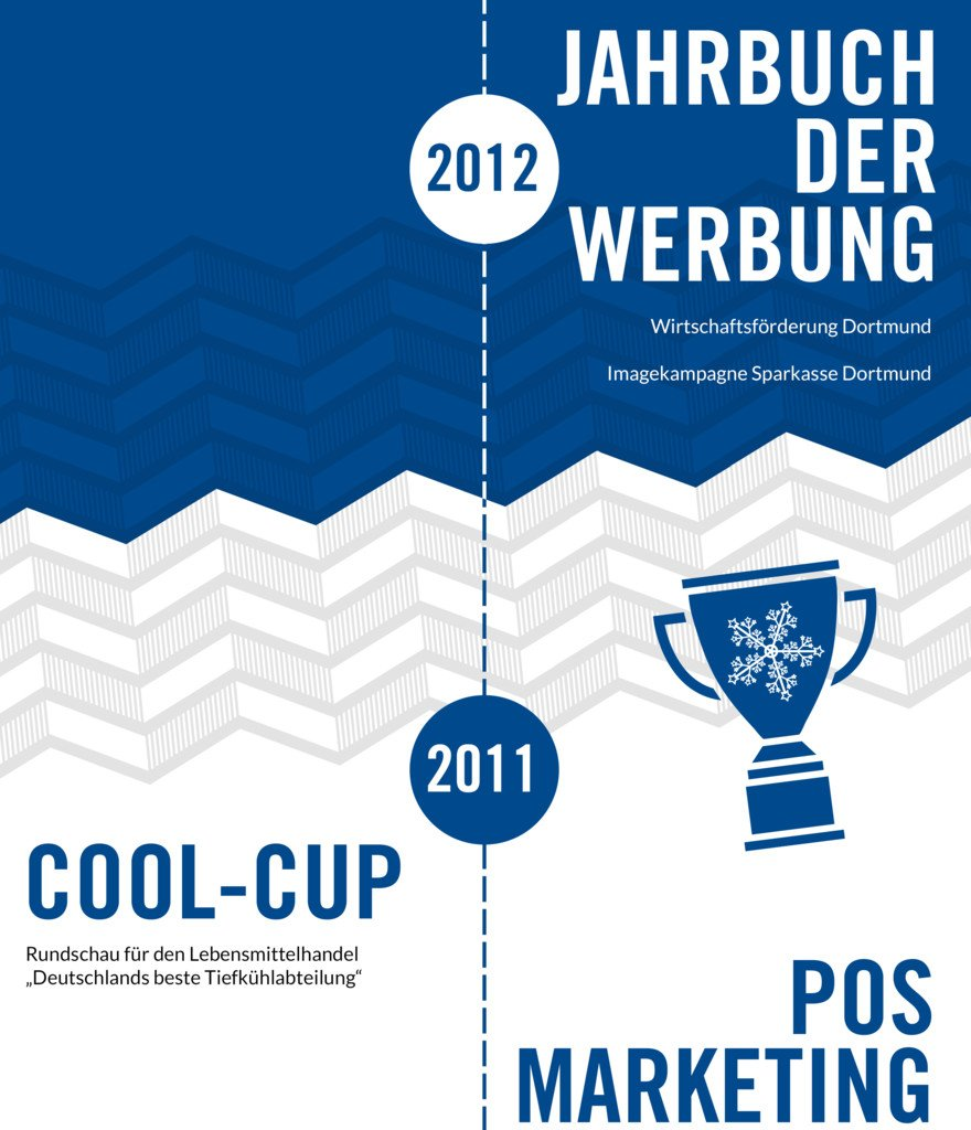 Unsere Awards | 2012-2011 Cool-Cup, POS Marketing Award
