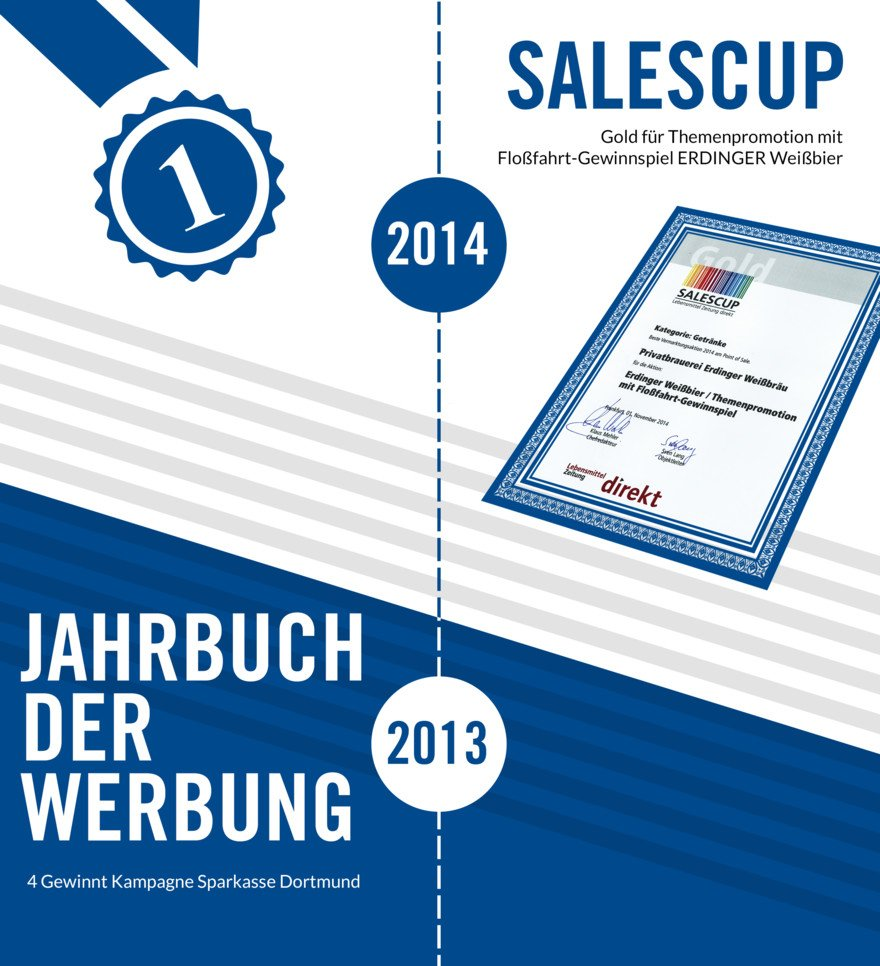 Unsere Awards | 2014-2013 Salescup